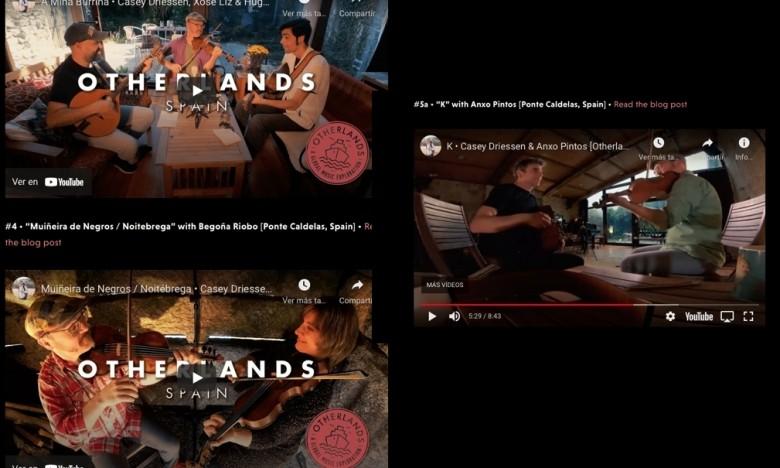 GALAXIA ETRAD. O violinista Casey Driessen publica Otherlands. Unha viaxe musical polo mundo que incluiu a Galicia e ao alumno Hugo Franco e aos mestres Xosé Liz, Begoña Riobó e Anxo Pintos