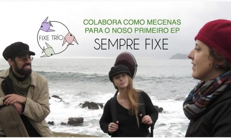 GALAXIA ETRAD. FIXE TRÍO, o novo proxecto da mestra de Música e Movemento, Xela Conde, avanza na campaña de VERKAMI do seu 1º EP: SEMPRE FIXE