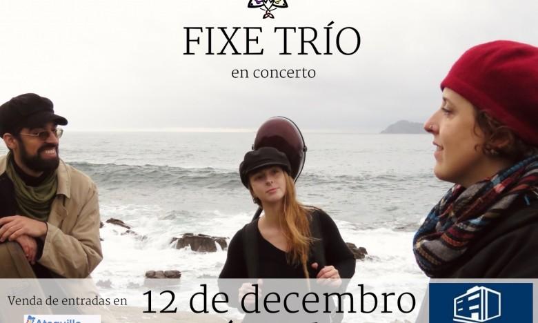 GALAXIA ETRAD. A mestra, Xela Conde, en concerto con FIXE TRÍO. 12/DEC/20. Auditorio Municipal de Cangas. 20:00 h.