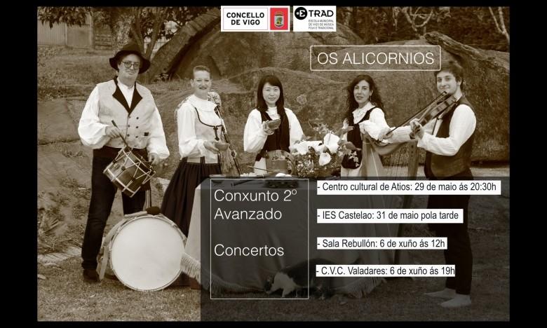 Os Alicornios no IES Castelao. Luns 31 de maio. EXTRAESCOLARES  ETRADVIGO 2020-21