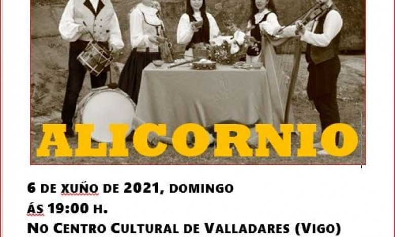 OS ALICORNIOSno C.C. de Valadares. Domingo 6 de xuño. 19:00 hs. Entrada libre e de balde con aforamento restrinxido  previa reserva no enlace. EXTRAESCOLARES ETRAD 2020-21.