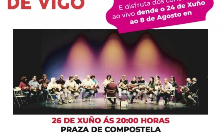 ETRAD ZANFONA ENSEMBLE en concerto. Xardíns da Praza de Compostela, Vigo. Sábado 26/06/21. 20:00hs. EXTRAESCOLARES ETRADVIGO 2020-2021.