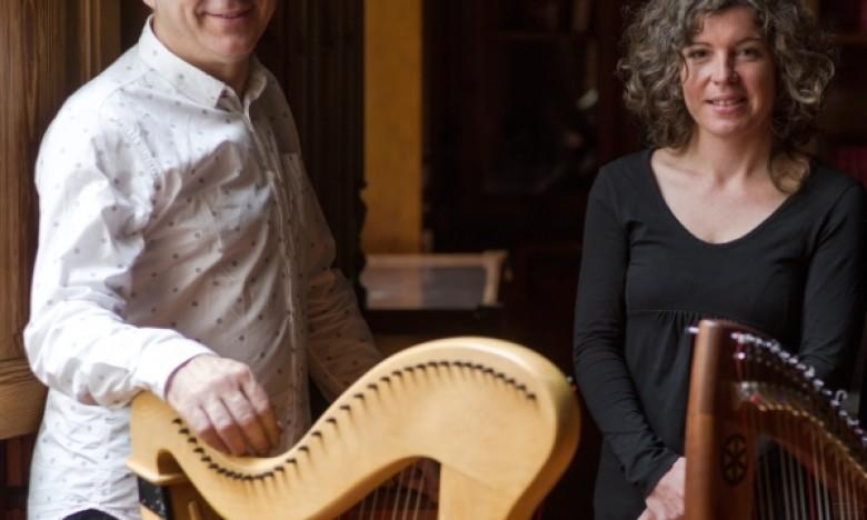 GALAXIA ETRAD. Bea Martínez e Rodrigo Romaní publican ILLAS, un EP con tres paisaxes sonoras dende a óptica da arpa céltica.