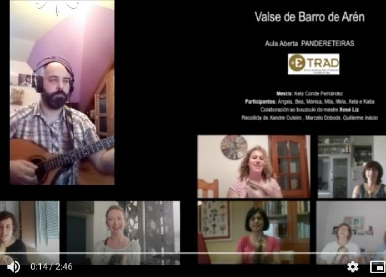 ETRADCOVID19 - A A PANDERETEIRAS ETRAD. VÍDEO Valse de Barro de Arén. Mestra Xela Conde. Curso 2019/20
